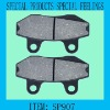 SP907 carbon fiber and ceramic abrasive brake pad change