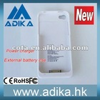 1900mAh Mobile Bank Power External Battery Case For Iphone&Ipad ADK-B106