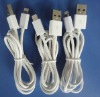 Promotion For iPhone 5 Cable with 1Meter Male to Male