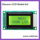 8x2 character lcd display module