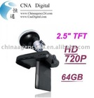 New Car HD Camera Accident Recorder DVR 720p 2.5 TFT Sport Car MINI DV camera DVR-from cnadigital.com