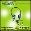 2012 new design hot sale one side headphones