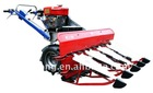 4.5HP mini combine rice harvester