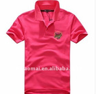 HIGH QUALITY men's casual fashion cotton polo tshirt with embroidery