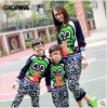 New Autumn clothes---Dinosaurs hanging tongue long sleeve sweater for Mother and son 4746