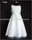 Fashion design small girl dress of F142