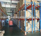 Heavy duty selective pallet rack
