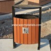 Outdoor Anti-UV Wood Plastic Composite wpc garbage bin