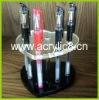 heart shape acrylic pen display holder