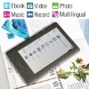 7 Inch Color Screen Ebook Reader Support Music Video Radio Record Photo
