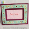 Distinctive pretty acrylic photo frame with nice flower patterns in european style