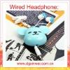 2012new design-Smart bear headphone