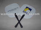 printed advertising hand fan