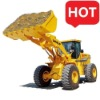 wheel loader 5 ton with pilot joystick