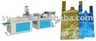 FQCH-HC-600 Hot-sealing and Hot-cutting Bag Making Machine with Automatic Punching Unit