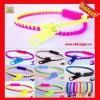 wholesale fashion colorful plastic zipper bands