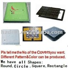 Square SMC Manhole Cover&Rectangle BMC manhole cover&resin fiberglass cover&Molded resin covers&molded polymer cover&water grate