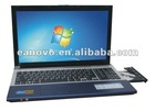 New Arrival 15.6 inch laptop & notebook with Intel Atom D2800 dual-core 1.86Ghz,2GB RAM& 320G HDD,Wifi,1.3M camera and DVD-RW