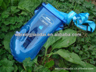 Plastic waterproof mobile phone bag inflatable water resistant beach bag with zip