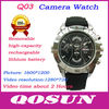 New design Removable Battery and memory card, hidden HD 1280*720 hidden camera watch