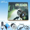 High Power Over 1200 Lumen led bicycle light with rubber