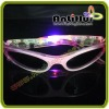 Children LED Flashing sunglasses with customized shape