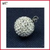 Free shipping new design wholesale shamballa beads pendant with 1203075
