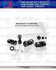 ASTM DIN GB Metric rail hex head high tensile nut bolts