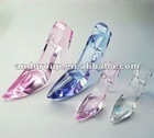 Crystal shoes model/crystal wedding gifts