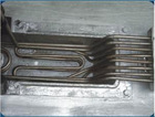 Die casting machine heating element