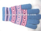 2012 100% Wool Knit Gloves