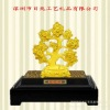 2013 advanced 24K gold art gift handiwork-wholesale hot sales -money tree gift