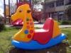 three-color Giraffe Rocker(ride on)