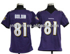 2012 newest youth American football jersey,Boldin#81 Ravens youth Jersey, free shipping+paypal