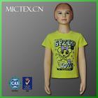 child clothes cotton spandex printing kid clothes t shirt