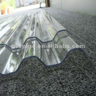 Transparent Thermal Insulation Corrugated PC Sheet 2.1m*5.8m