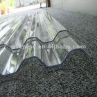 Transparent Thermal Insulation Corrugated PC Sheet 2.1m*5.8m
