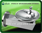 wall mounted stainless steel drinking water fountain