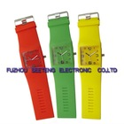Promotional colorful silicone kid hand watch