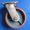 Industrial heavy duty PU caster wheels