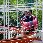 Thrilling Outdoor Amusement Rides Roller Coaster