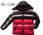 100% Polyester Miton with PVC Coating Boys Bubble Jacket (PG-1101/2/3/4)