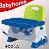 CE European standard baby plastic booster seat