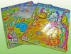 2012 New Design Paper Cartoon Toy Jigsaw Puzzle for Kids' Intellegence JP0009
