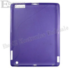 wholesale 50pcs TPU case for ipad2 New Clear TPU Case Cover Skin for iPad 2 IP-359