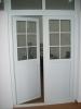 Double PVC French Door