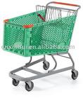 Powder Coating Plastic Shopping Trolley