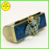Hot Selling Lady Metal Lipstick Box with Honeybee Designer(FB008034)