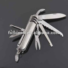 11 IN 1 Stainless Multifunction Tool Swiss Style Army Knife