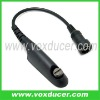 Min-Din audio Plug for Motorola two way radio GP328 GP338